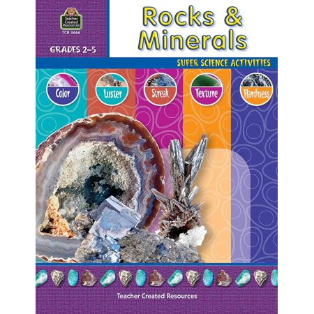 Teacher Created Resources Rocks   Minerals Education Printed Book For Science   English   Book   48 Pages  Tcr 3666