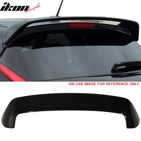 Hatch Spoiler (Fit 11-17 Nissan Juke OE Factory Hatch Painted Roof Spoiler Sapphire Black Pearl )