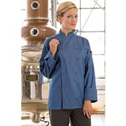 0460C-1710 Sante Fe Chef Coat in Chambray - 6XLarge