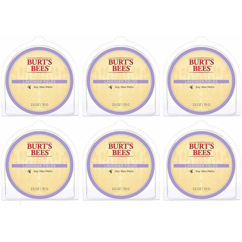 Burt's Bees Melts Lavender Fields, Set of 6