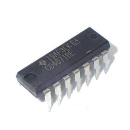 Texas Instruments CD4071BE CD4071 CMOS Quad 2-Input OR Gate (Pack of 5) Texas Instruments Auto Adapter