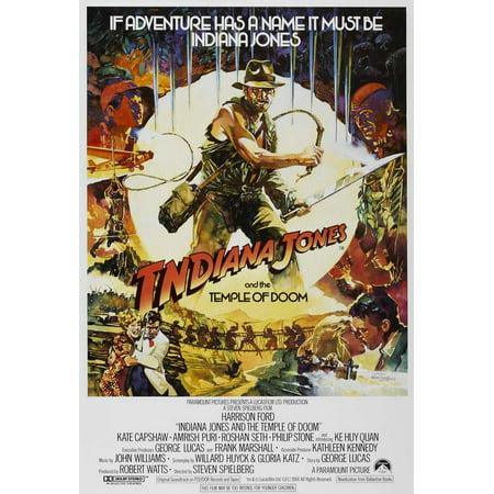 Indiana Jones And The Temple Of Doom Poster Movie G Mini Promo