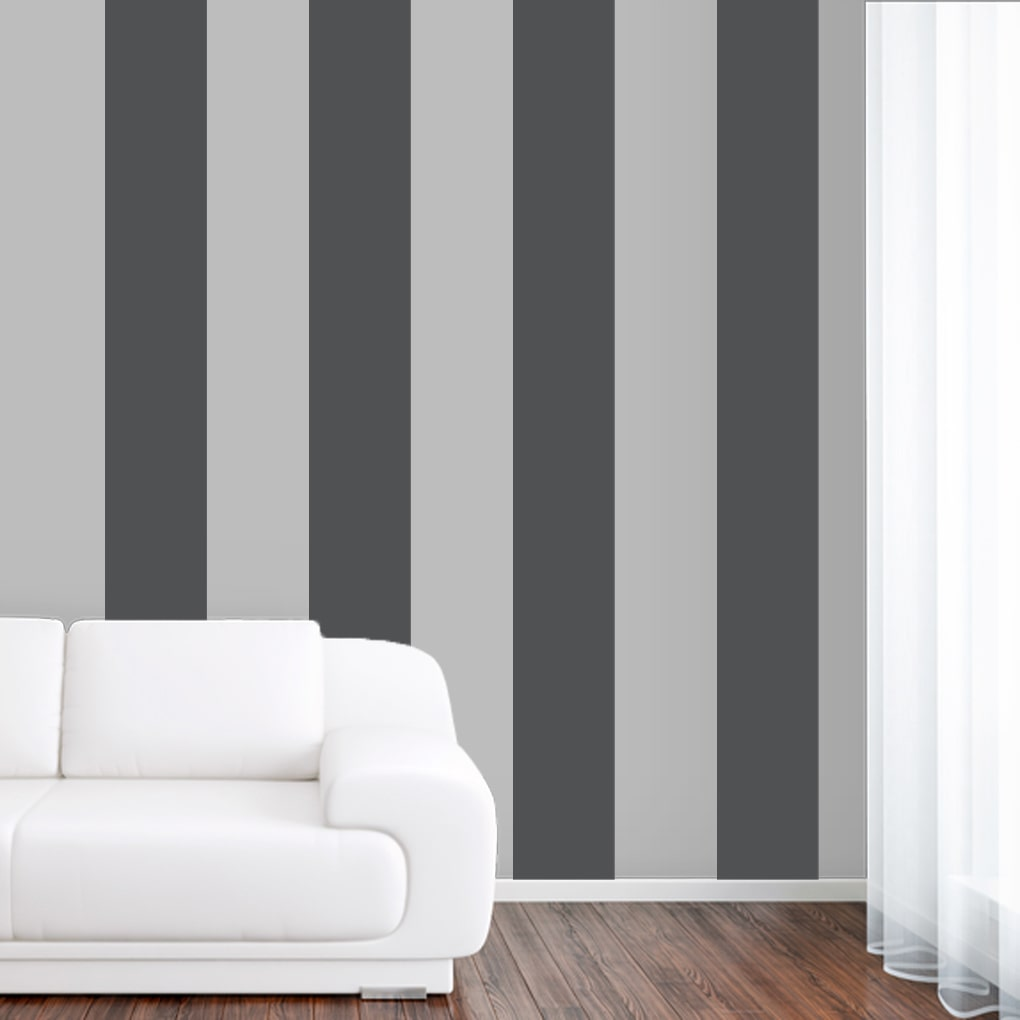 Sweetums Stripes Large Wall Decal (Set of 4)