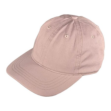 Buck Caps Unisex Baseball Hats in Solid Colors (Light Gray-104)