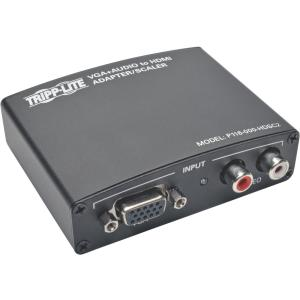 Tripp Lite VGA with RCA Stereo Audio to HDMI Converter/Scaler