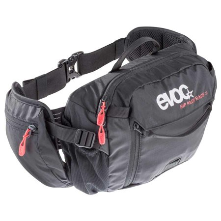 EVOC, Hip Pack Race,  3L with 1.5L reservoir, Black