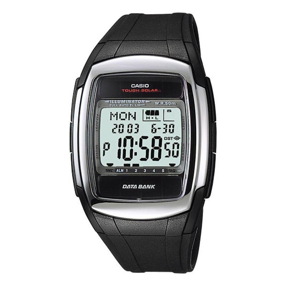 Casio Men's Core DBE30-1AV Black Resin Quartz Watch