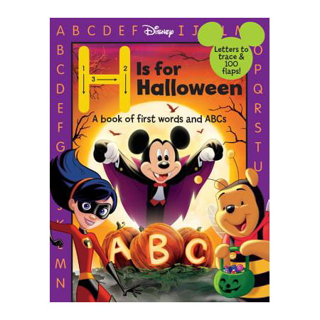 H Is for Halloween (Board Book)](Disney Halloween Events 2017)