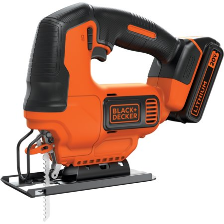 Cordless Recipro Saw Kit - BLACK+DECKER 20V Max Cordless Jig Saw, BDCJS20C2