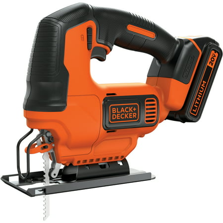 BLACK+DECKER 20V Max Cordless Jig Saw, - Powerful Jigsaw