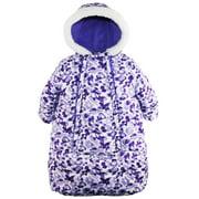 Pink Platinum Baby Girls Snowsuit Carbag Floral Camo Winter Puffer Jacket Coat