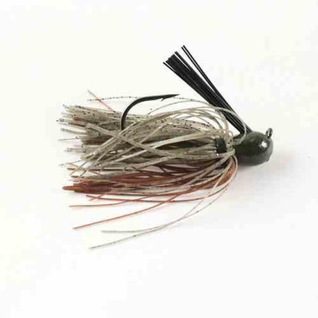 Missile Ike's Mini Flip Jig 3/8 Candy - Candy Grass