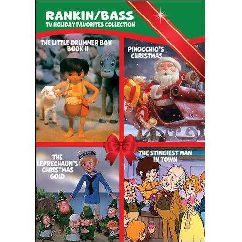 Rankin And Bass TV Holiday Favorites Collection: The Little Drummer Boy: Book II / The Stingiest Man In Town / Pinocchio's Christmas / The Leprechaun's Christmas Gold (Full Frame)