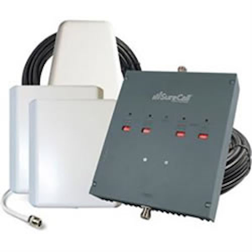SureCall DualForce Yagi/2 Panel 3G Booster for up to 25,000 Ft2