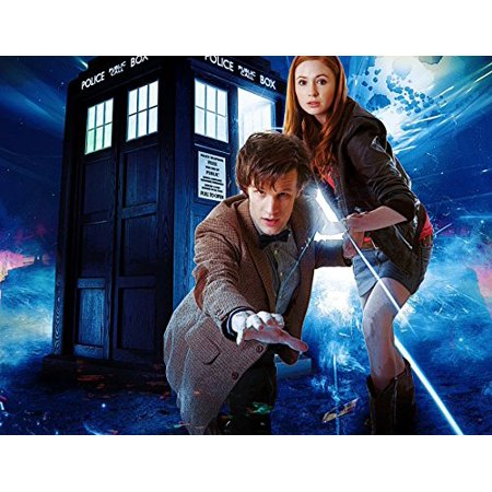 Doctor Who Tardis Dr Who Edible Image Photo Cake Topper Sheet Birthday Party Event - 1/4 Sheet - - Dr Topper