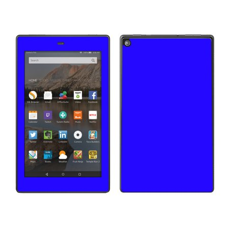 Skins Decals For Amazon Fire Hd 8 Tablet   Bright Blue