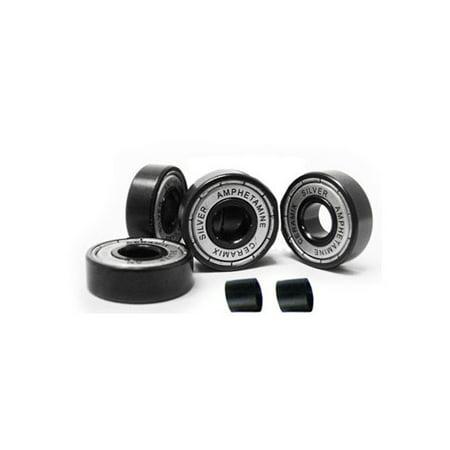 Amphetamine Bearings Ceramic 4-Pack for Scooter, Skateboard, Inline Wheels