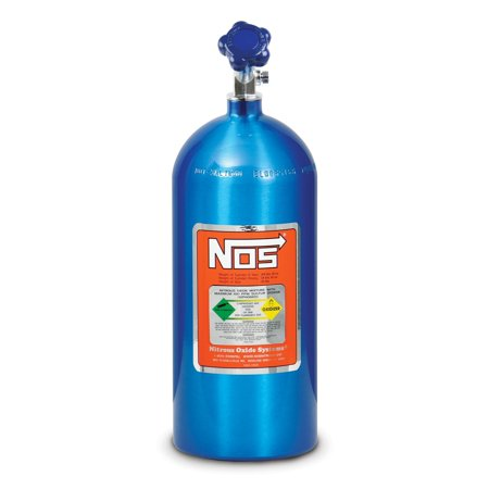 NOS 14745-TPINOS Hi-Flo Nitrous Bottle w/Racer Safety, Electric