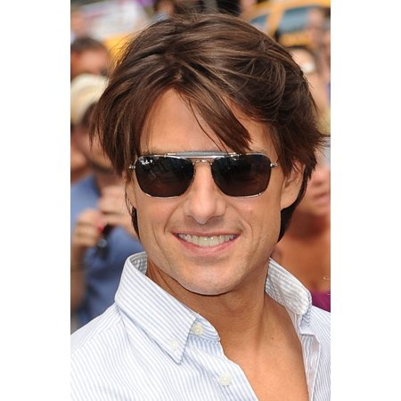 Tom Cruise At Talk Show Appearance For Good Morning America  Gma  Celebrity Guests Canvas Art     16 X 20