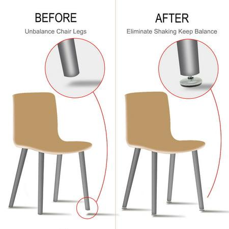 M8 x 12 x 37mm Leveling Feet Adjustable Leveler for House Table Sofa Leg 16pcs - image 5 of 7