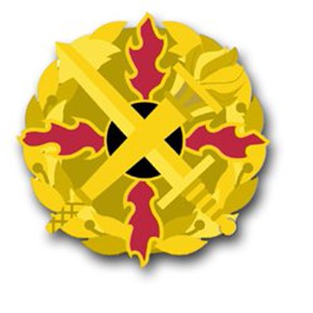 United States Army Defense Ammunition Center and School Unit Crest Decal Sticker