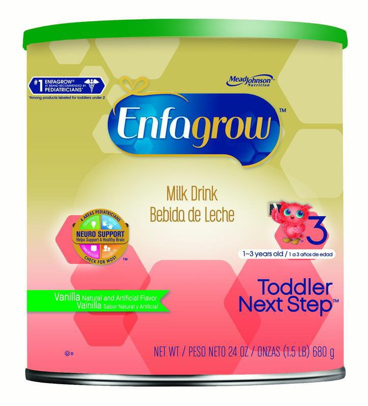 Enfagrow Toddler Next Step Vanilla Milk Drink, Powder, 24 Ounces