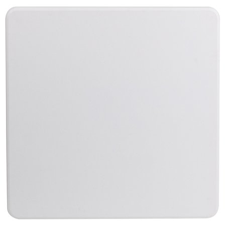 2.85-Foot Square Granite White Plastic Folding Table - Event Folding Table