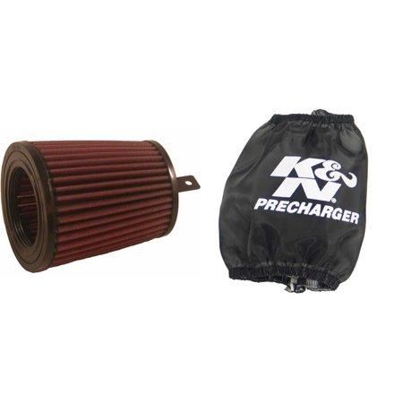 k&n pre-charger wrap and air filter kit for atv/utv suzuki lt-f400 eiger 2x4  2004 - walmart com