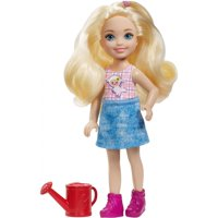 Barbie Sweet Orchard Farm Chelsea Doll with Red Watering Can