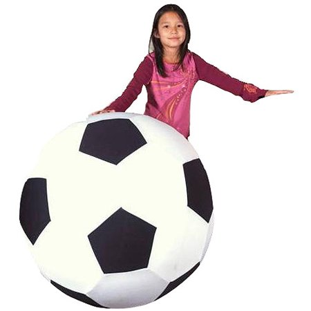 Sportime Giant Soccer Ball with Washable Cover, 40