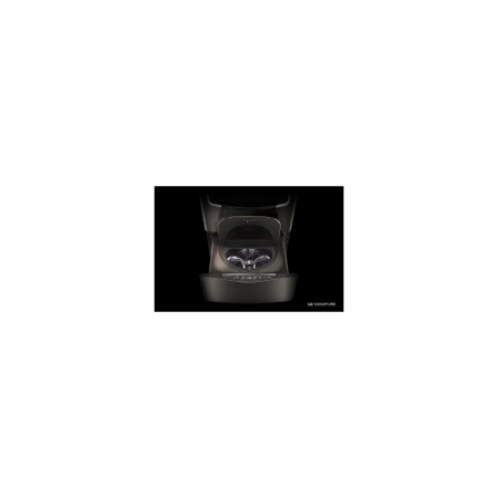 LG WD205CK 1 cu.ft. Pedestal Washer 29u0022 Width, Black Stainless Steel
