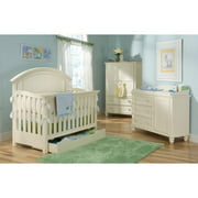 Legacy Classic Summer Breeze 4-in-1 Convertible Crib Only , White