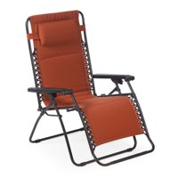 Coral Coast Extra Wide Zero Gravity Chair with Pad - Terra Cotta