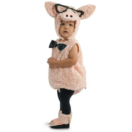 Halloween Toddler Hipster Pig Costume - Pigs In A Blanket Costume