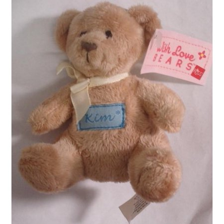 With Love Bears Personalized Embroidered Name (Cute Names To Name A Teddy Bear)