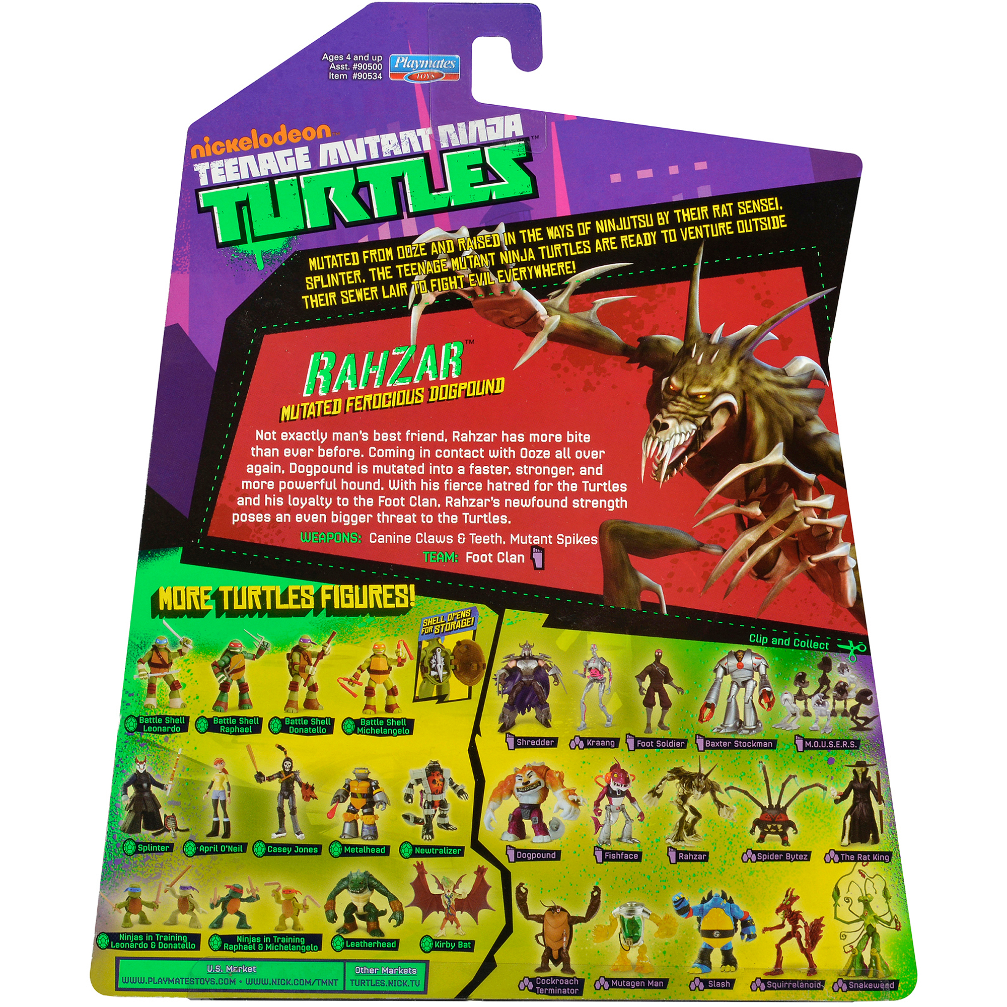 Teenage Mutant Ninja Turtles Rahzar Action Figure
