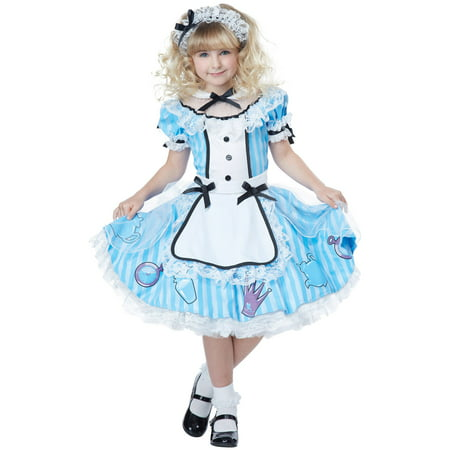 Deluxe Alice in Wonderland Child Costume - Cheap Alice In Wonderland Costumes