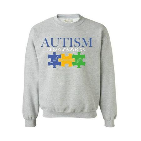 Awkward Styles Autism Awareness Sweatshirt Accept Understand Love Autism Sweater Autism Gifts Autism Puzzle Sweatshirt Support Autism Awareness Autism Sweatshirt for Women Autism Sweatshirt for Men