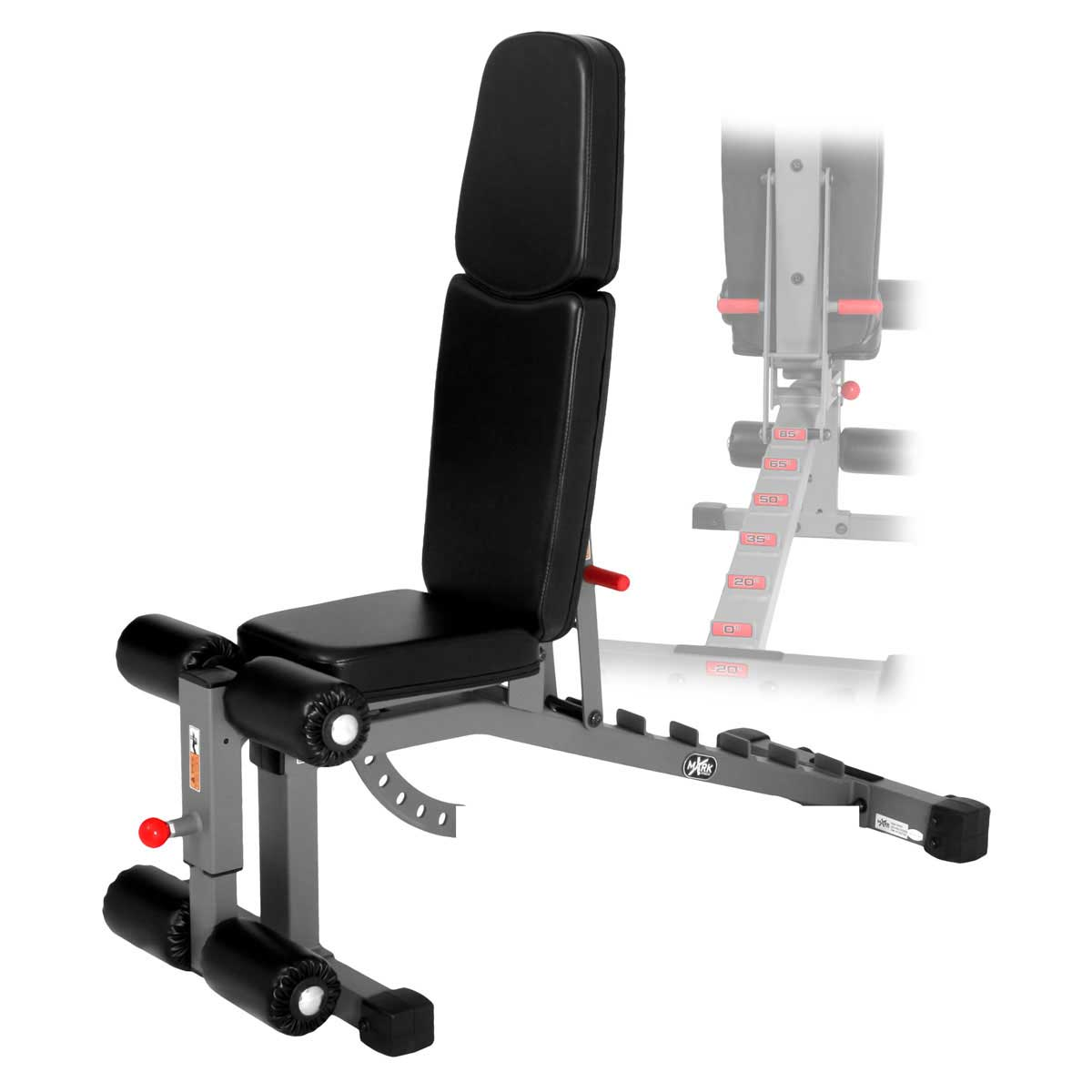 XMark Commercial FID Ab Versa Weight Bench