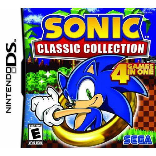 Sega Sonic Classic Collection Action/adventure Game - Nintendo Ds (67035)
