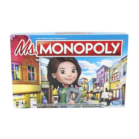 Ms. Monopoly Board Game for Ages 8 and Up