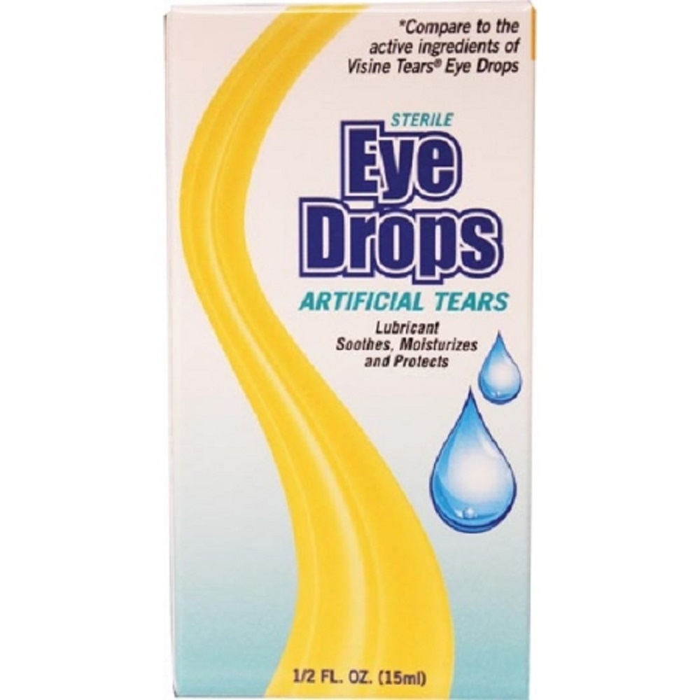 New World Imports Lubricant Eye Drops 0.5 oz. Drop by New World Imports