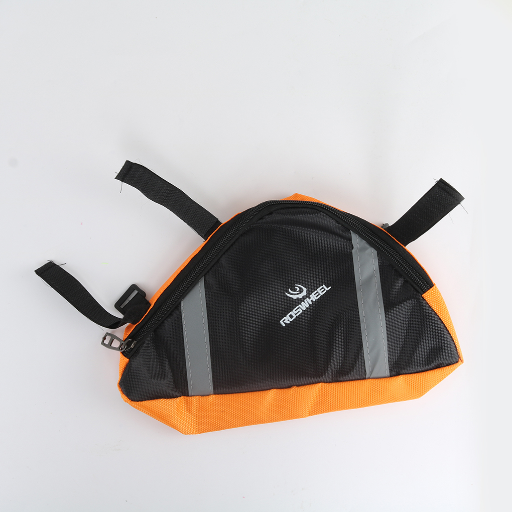 Roswheel New Cycling Bicycle Bike Bag Top Tube Triangle Bag Front Saddle Frame Pouch Outdoor