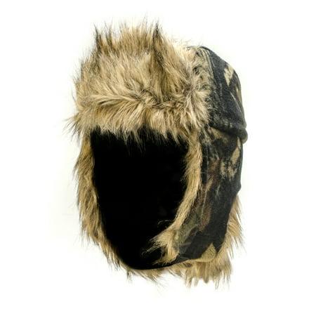 - QuietWear Fleece Trapper Hat, Adventure Brown