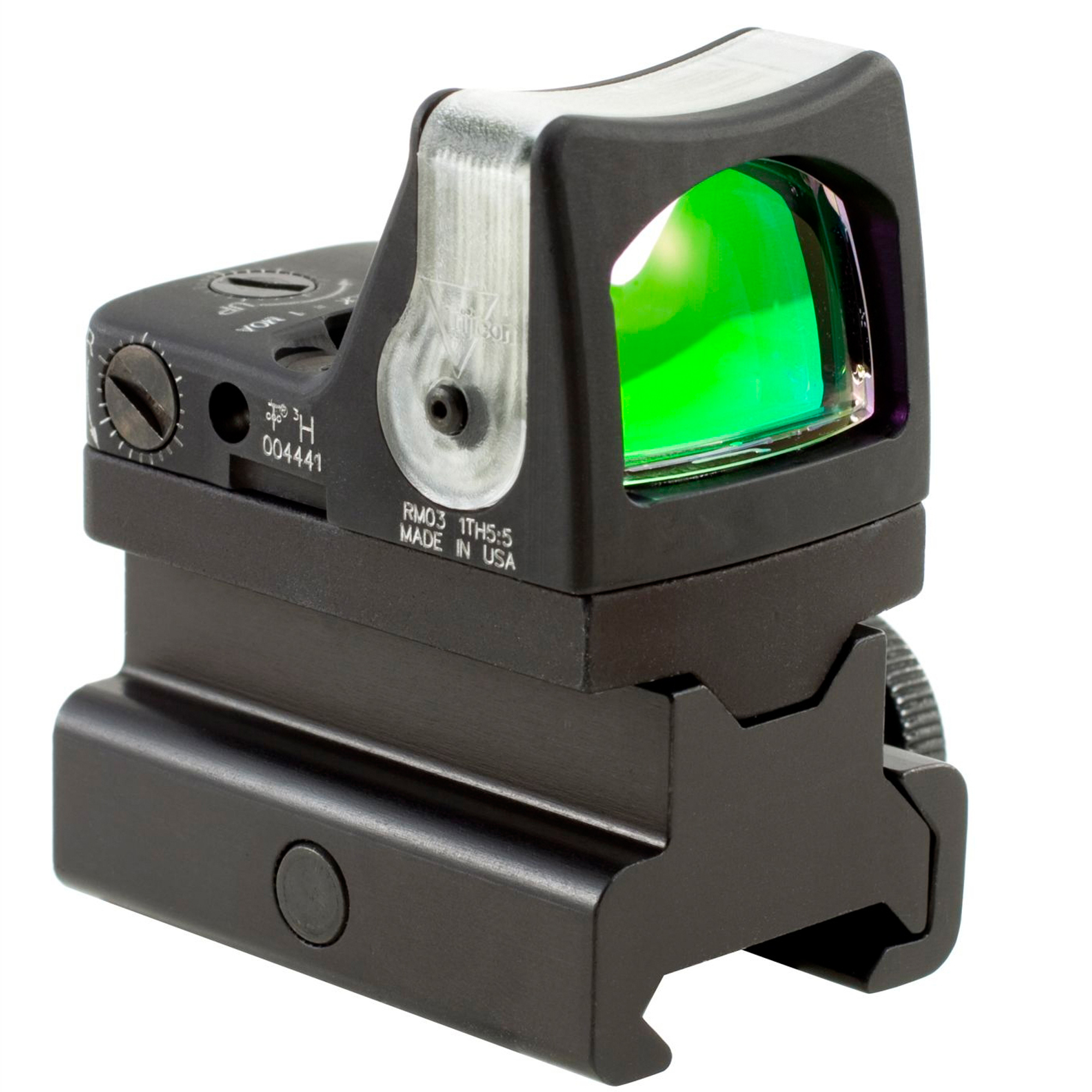 Trijicon RMR 7 MOA Amber Dot Dual Illuminated Sight w/ RM34 Picatinny Rail Mount