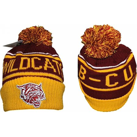 Bethune-Cookman S7 Cuff Beanie Cap with Ball [Maroon - Adult]