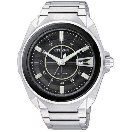 51e Watch - Men's Eco-Drive Solar Power Watch AW1021-51E