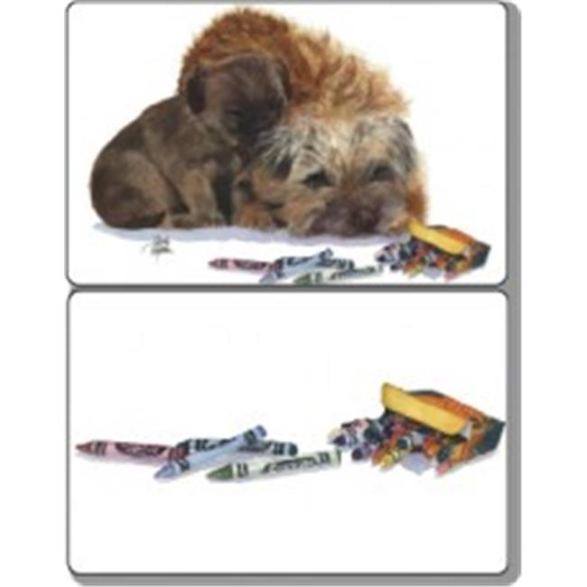 Rainbow Card Company DDPC-701MCC Double Deck Playing Cards Muffin and Crumb Cake - Crayons