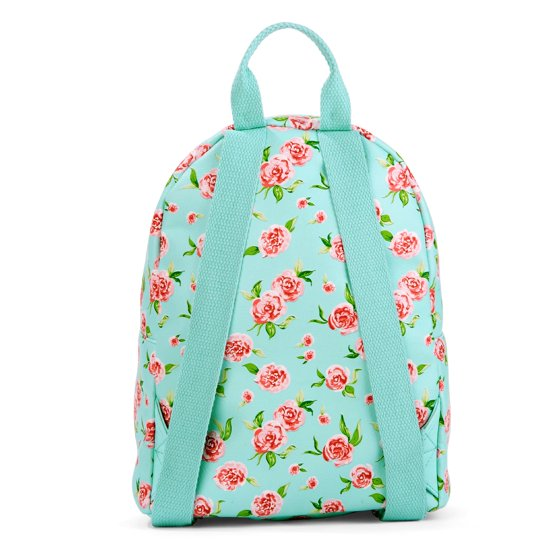 Mint Floral Mini Dome Backpack