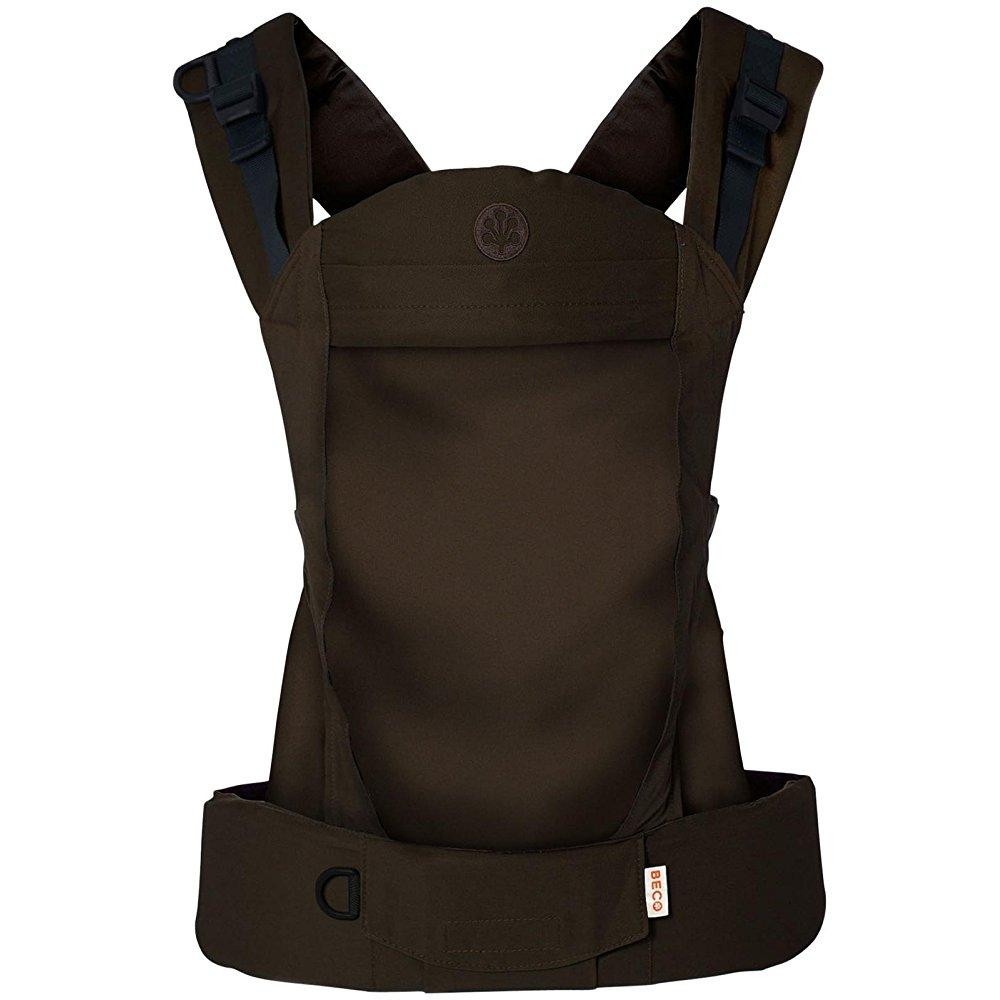 BECO soleil baby carrier - espresso - birth and up